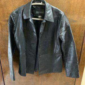 Banana Republic women's leather jacket